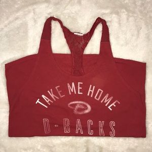 Victoria's Secret PINK Take Me Home D-Backs Tank